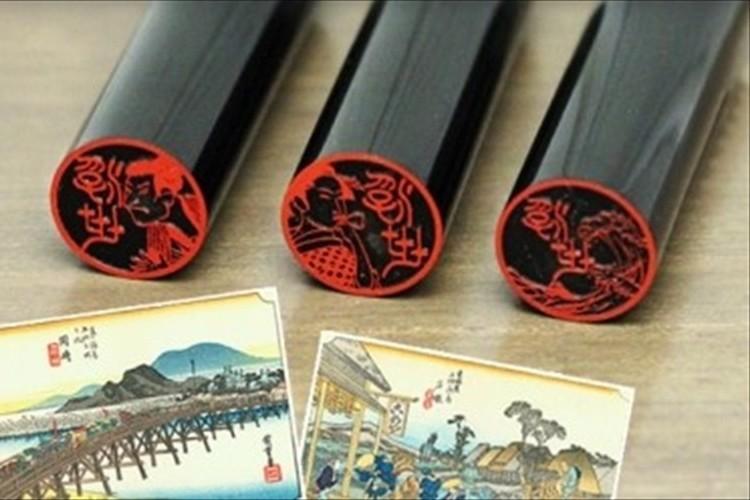 江戸の文化をハンコで学べる!? 浮世絵を彫刻したハンコ「浮世絵図鑑」が販売開始!