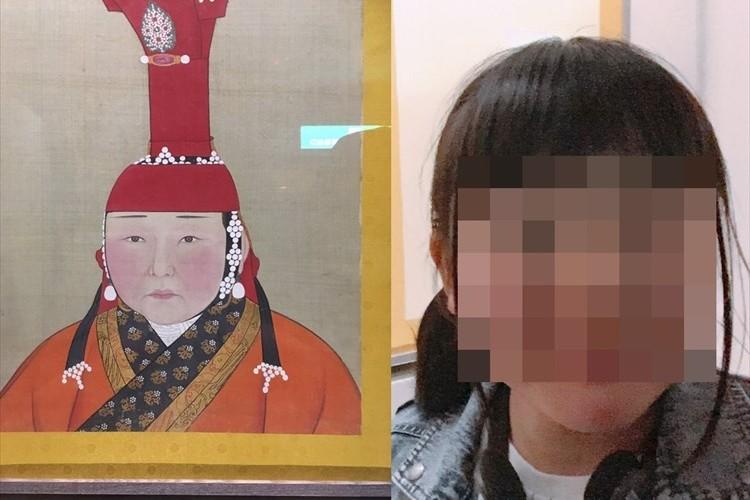 """日本の女子高生が""""モンゴル帝国の王妃にそっくり""""すぎて、海外メディアでも話題に!"""