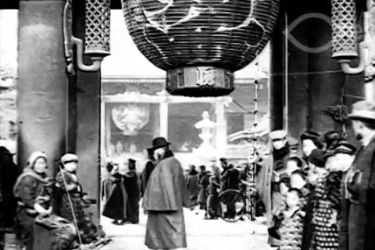 【貴重映像】約100年前の東京を撮影した映像…徳川慶喜が最期を迎えた年