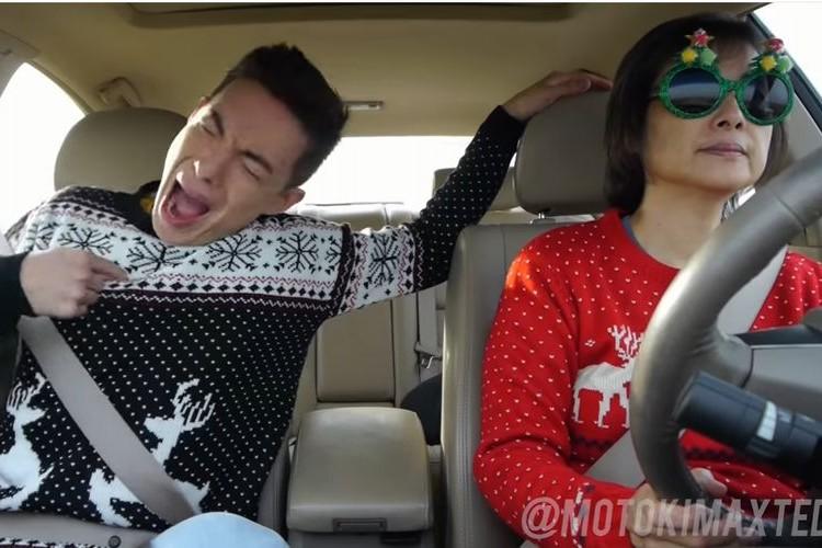 音楽に感情移入しすぎだろ~!温度差が激しすぎる親子のドライブに笑いが止まらない!