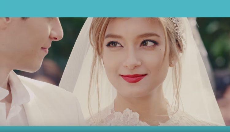 キスシーンがラブラブな披露!ローラが息をのむほど美しい花嫁姿のCMを公開