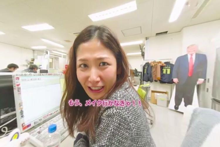 NHKの桑子アナが耳横で「お疲れさま♪」と言ってくれる360度VRが体験できる!しかもスッピン公開