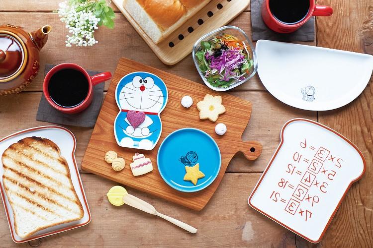 アンキパン皿ですと…!?ドラえもんのひみつ道具が食器になって登場!
