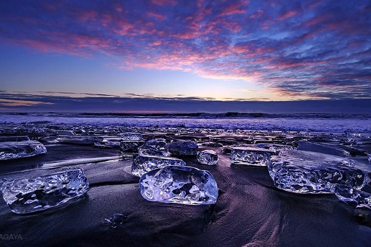 """美しすぎる…北海道で撮影された""""ジュエリーアイス""""の写真に心が震える"""