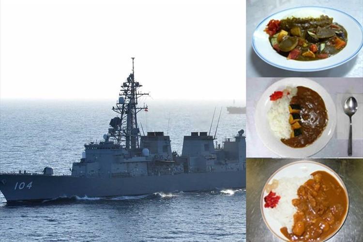 """海上自衛隊にとって""""金曜日はカレーが食される日""""寒い日は海自カレーがオススメ!"""