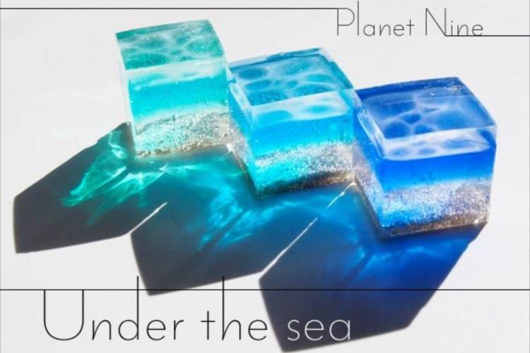 美しい...『海のかけら』のアクセサリー 見たこともない透明感に大反響!