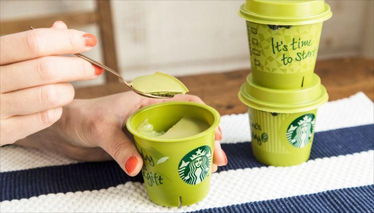 スタバから抹茶プリンが登場!これは絶対にうまいはず