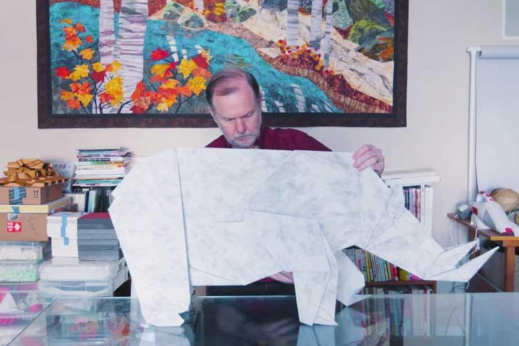 折り紙のためにNASAを辞めた物理学者…無限の可能性を感じる作品は、まさに宇宙そのものだった