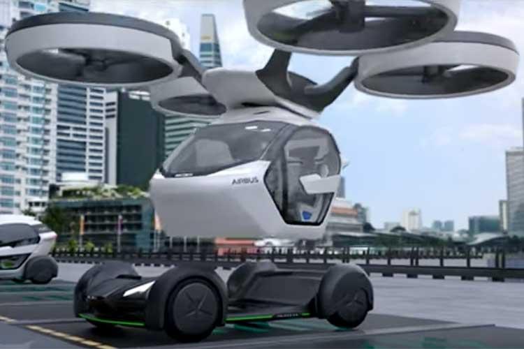瞬間移動?地上と空を繋いで移動できるドローン自動車が誕生!