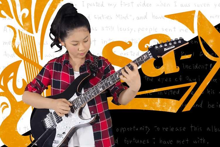 ポール・ギルバートのライブにも出演!12歳のギター少女の演奏が凄すぎる!!