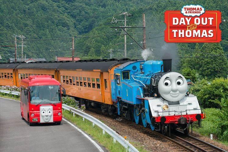 親子に毎年大人気のイベント! 蒸気機関車の「きかんしゃトーマス号」が今年も走るぞ!