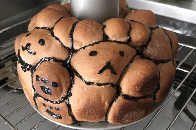 かわいいリラックマのパンを作る予定が、出来たのは賢者の石だった。。。