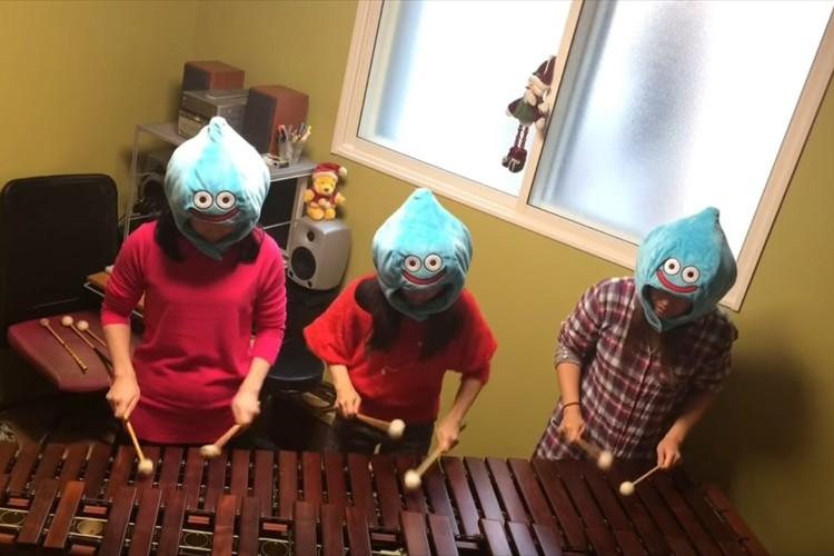 【動画】3人組の女子が木琴でドラクエ、FF等のゲーム音楽を演奏する動画が凄い!
