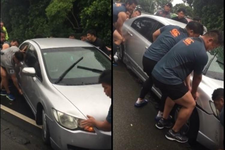 """日本のラグビーチーム""""サンウルブズ""""がニュージーランドで人助け、世界中から称賛"""