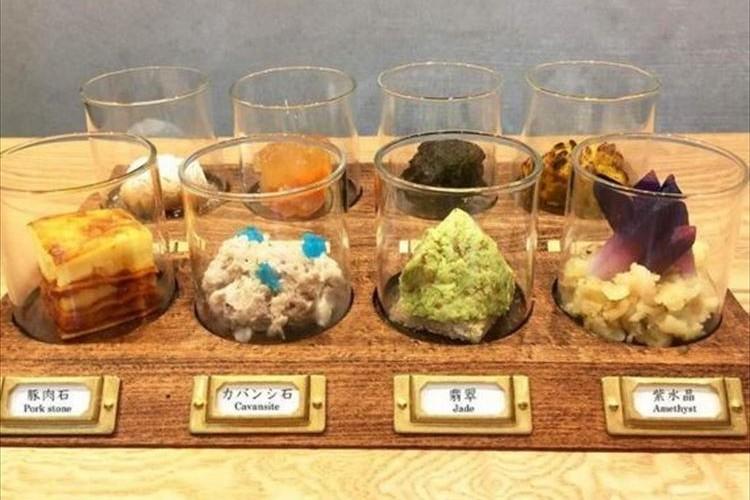 アメジスト、翡翠などの鉱物が食べられる!?京都のカフェにしかない『鉱物料理』がステキ
