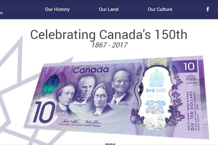 カナダ中央銀行でコナミコマンド!?新10ドル紙幣発行記念にユーモアを。