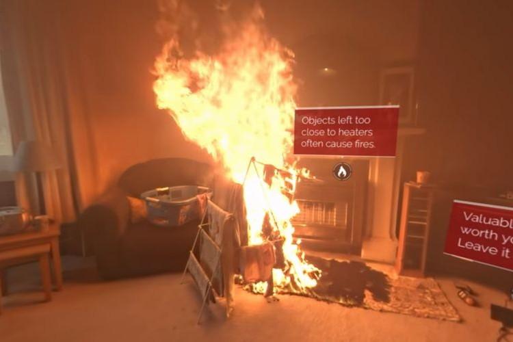 わずか40秒で天井にまで炎が…!消防署が公開した火災発生時の動画が恐ろしすぎる