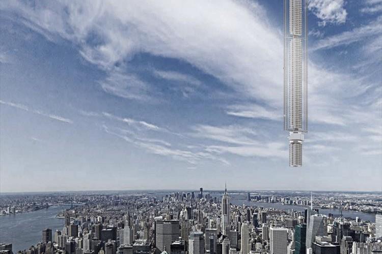 """この発想はなかった…""""小惑星から吊るす超高層ビル""""の計画が発表されて話題に!"""