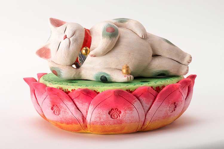 芸術に昇華した1000匹以上の猫ちゃん大集合♪「福猫at百段階段〜和室で楽しむ猫アート〜展」
