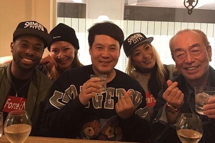 「けんさんの笑顔ホッとする」志村けん&タカがダンサー達との異色の飲み会を公開!