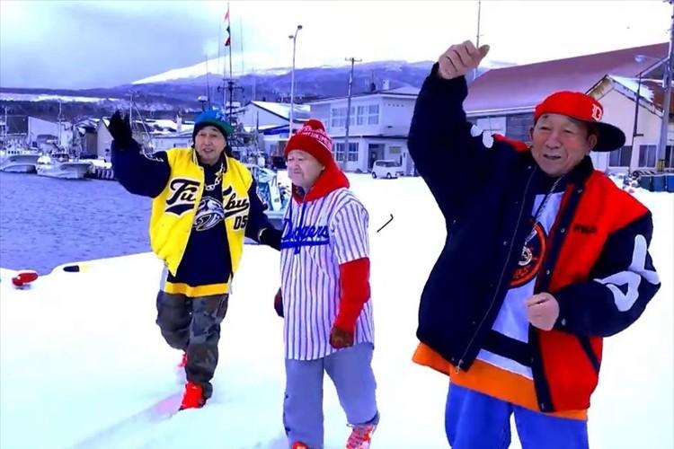 合計年齢246歳、北海道 利尻島の現役漁師がHIPHOPグループを結成! 歌声も全てご本人達!