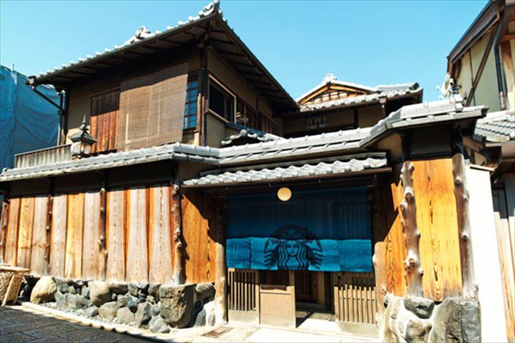 【世界初】築100年を超える日本家屋を使用!入口に暖簾をかけたスタバが6月30日にオープン!