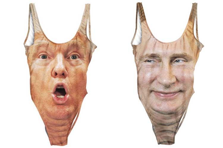 今年はトランプやプーチンの水着が流行る!? ななめ上を突き抜けたアイテムが盛りだくさん!!