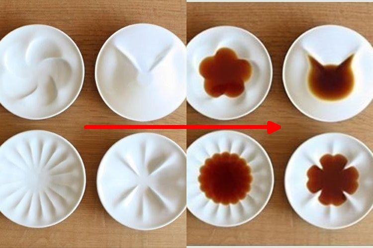 醤油を注ぐのが楽しくなりそう!猫やクローバーの形が浮かび上がるしょうゆ皿が可愛い!