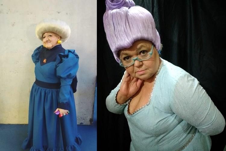 ブラジル人おばちゃんコスプレイヤーのおばちゃんを生かしたおばちゃんキャラコスが素敵!