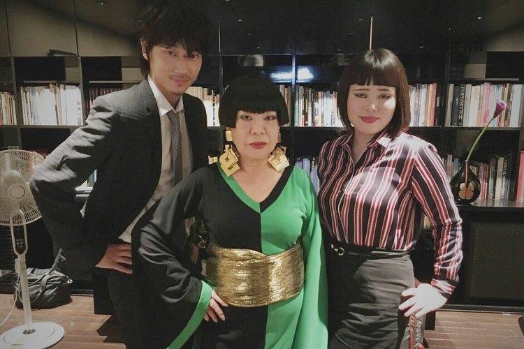 ナイスキャスティング!話題のドコモ新CM、ブルゾンちえみの母役にあのデザイナーが大抜擢!