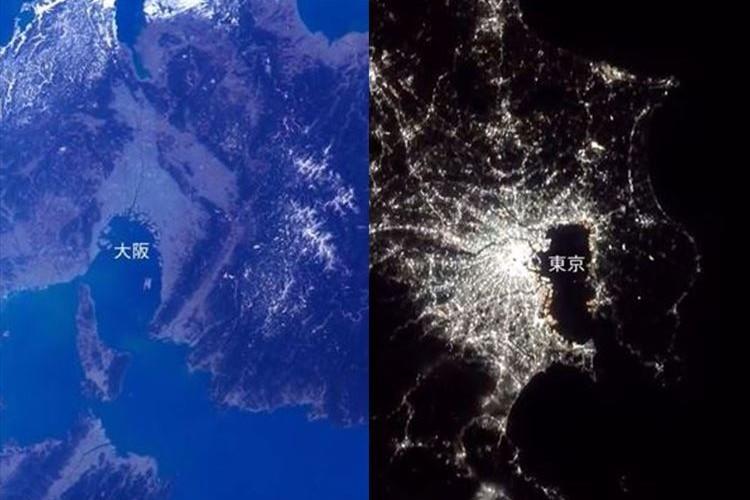 日本列島の昼と夜が鮮明!ISS船外から、民生機として世界初の4K撮影に成功!『ソニーα7S II』