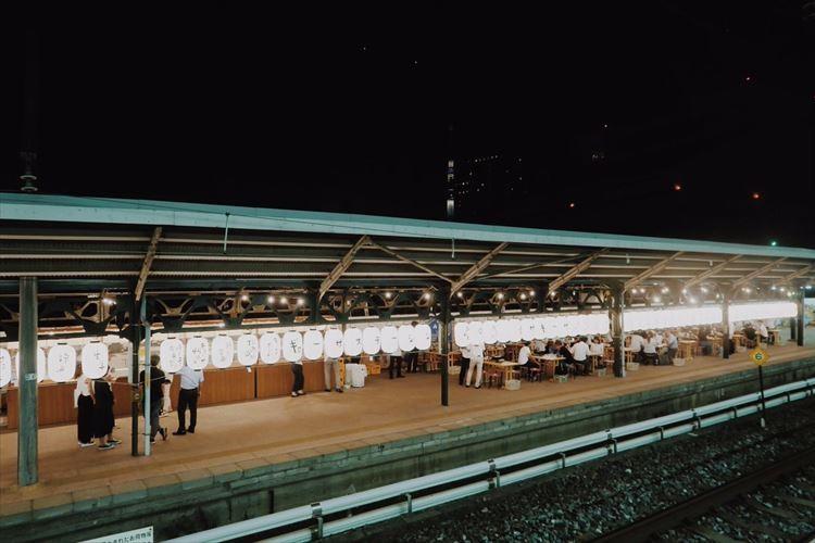 幻のJR両国駅3番ホームが「ギョーザステーション」に!7月14日から期間限定でオープン!