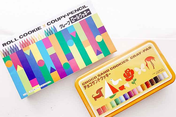 【注意】これはお菓子です。ぬり絵をしないでください。サクラクレパスのお菓子がパケ買いしちゃう可愛さ。