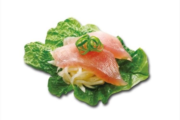 米の代わりに大根を使用!?くら寿司がシャリ不使用の「糖質オフ」メニューを販売!