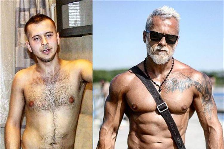 10年でこんなに変わる!?肉体改造して現在はフィットネスモデルとして活躍中の男性が話題に!