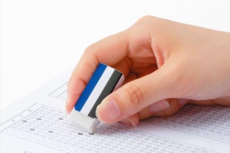 受験生のために…トンボ鉛筆が文字表記が一切ない「モノ消しゴム」を発売!