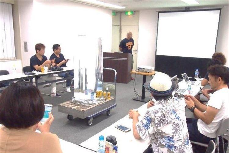"""会議室の真ん中に""""氷柱""""だと!?大阪・なんばの貸会議室が究極の""""エコ""""サービスを開始!"""