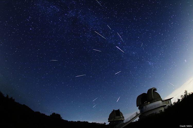 三大流星群のひとつ「ペルセウス座流星群」が極大に!12日~13日に最も多くの流星