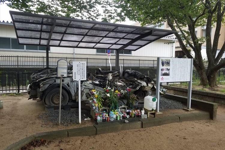 とある警察署に1台のパトカー…後生に伝えるべき警察官の勇敢な行動が記されていた