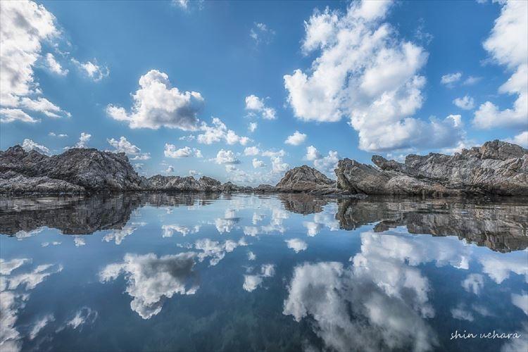 天空の鏡と呼ばれる「ウユニ塩湖」が新潟にもあった!神秘的な絶景が話題に