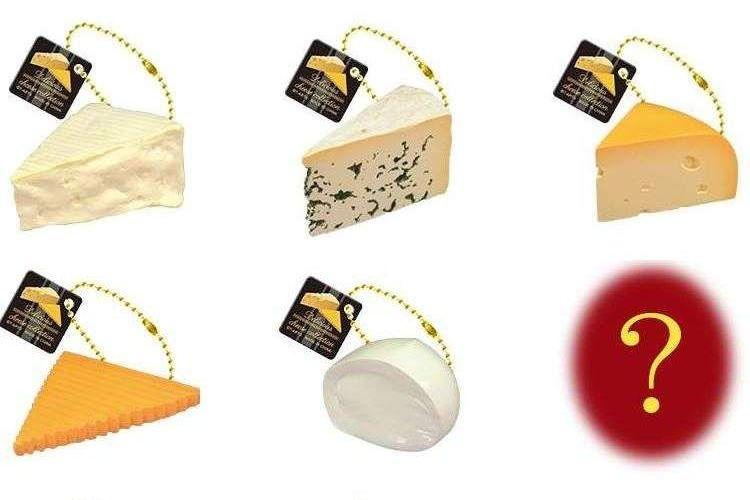 ほ、欲しい…(笑)本物そっくり&ニッチなカプセルトイ『デリシャスチーズコレクション』が堪らない!