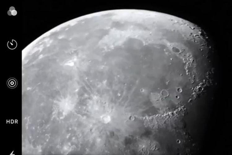 クレーターまでくっきり!iPhoneのカメラで「月を美しく撮る方法」をApple公式が解説!