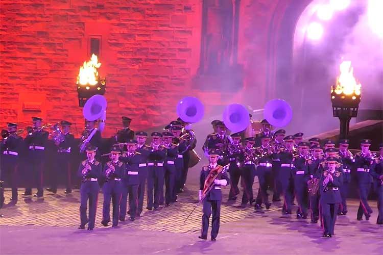 イギリスの軍楽祭に自衛隊が初参加…日本の文化を披露する楽曲は圧巻!