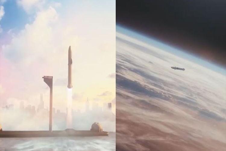 「地球上の移動をすべて1時間以内に」東京~NYは37分…火星移住用ロケットを利用した旅客機構想がスゴイ