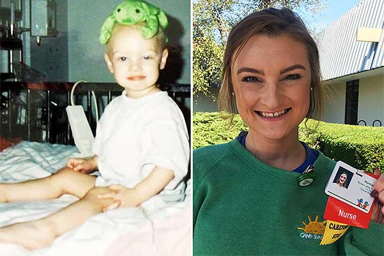 2歳で癌を患い、20年後に看護師として病院に戻ったその理由に感動