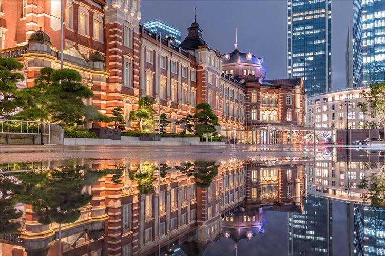 心が洗われるような美しさ…ファンタジックな東京駅の写真が話題に!