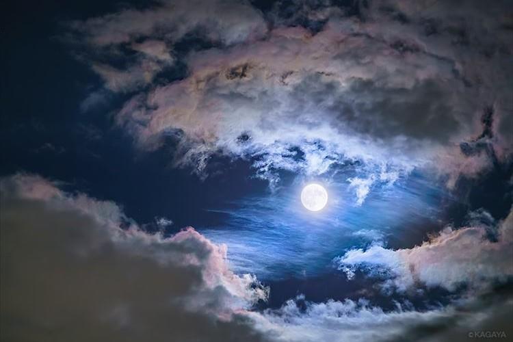 みんなはどんな夜空を見た?『中秋の名月』に撮影されたお月さまが幻想的で美しすぎる