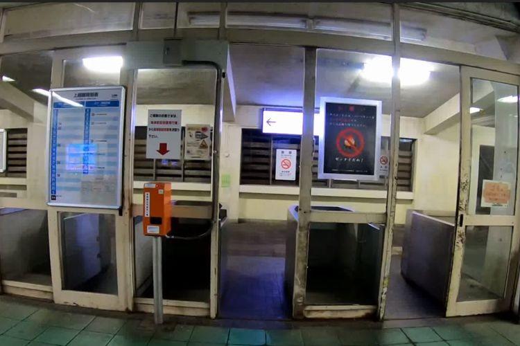 1人で歩くのは無理かも!?上越線土合駅の改札から下りホームまで撮影した動画が怖すぎ!