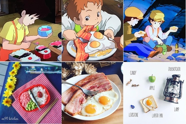 あの憧れのジブリ飯を再現した写真を投稿するInstagramアカウントが世界中から人気に!