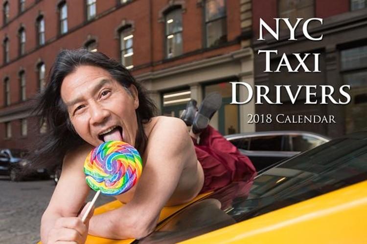 ニューヨークの現役タクシードライバーがモデルの2018年カレンダーが攻めてる!